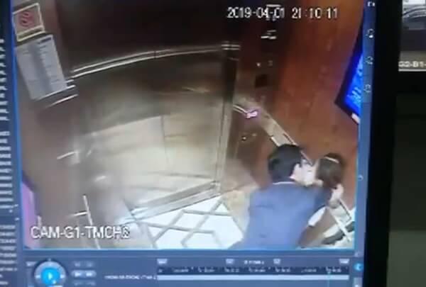 sàm sỡ bé gái trong thang máy